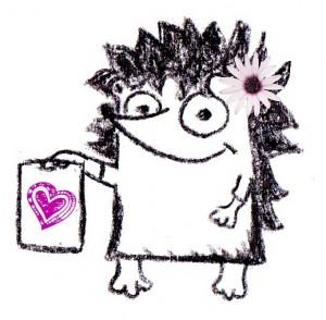 GP hh cartoon heart on flipchart